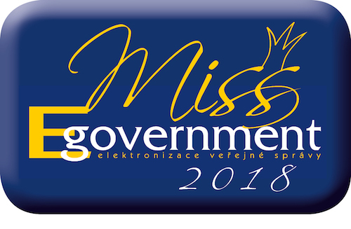 Logo Miss Egovernment 2018