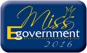 MISS EGOVERNMENT 2016 logo